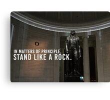 Thomas Jefferson Principle Liberty America Canvas Print