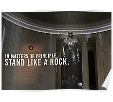 Thomas Jefferson Principle Liberty America Poster