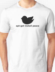 apt-get peace T-Shirt