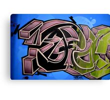Graffiti up close  Canvas Print