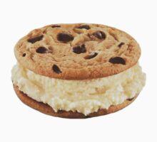 Cookie Ice Cream Sandwich by katiemarine