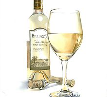 Glass of White by Anthony Billings