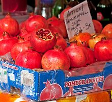 Pomegranates by phil decocco