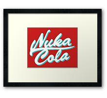 Nuka Cola Framed Print