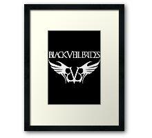black veil brides band Framed Print