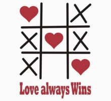 T-Shir- LOVE ALWAYS WINS by haya1812