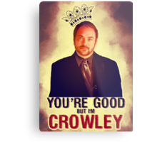 I'm Crowley! Metal Print