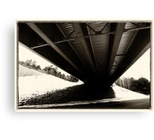 Underneath the Overpass Canvas Print