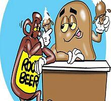 HAPPY HOUR CARTOON by InspireCartoons