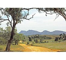 Winding road - Flinders Ranges Way Photographic Print