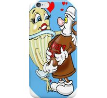 BEER BELLY CARTOON iPhone Case/Skin