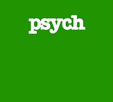 Psych Tv Show iPhone Case by M Put
