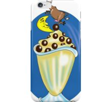COW JUMPED OVER MOON CARTOON iPhone Case/Skin