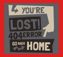 You're lost , go back home (404 ERROR) One Piece - Short Sleeve