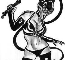 Selena Kyle Catwoman by Tony Heath