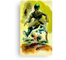 Soldier Boy Canvas Print