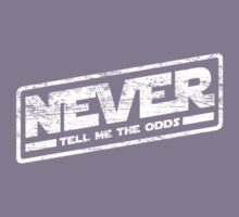 Never Tell Me The Odds (aged look) Kids Tee