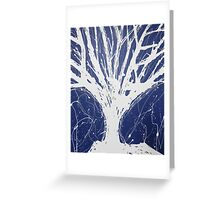 Abstract Tree Painting by Parrish Lee Greeting Card
