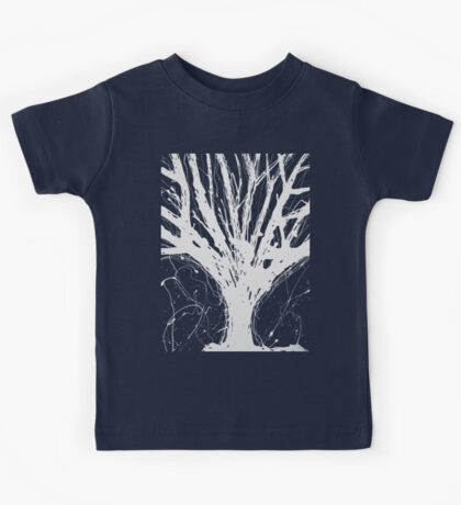 Abstract Tree Painting by Parrish Lee Kids Tee