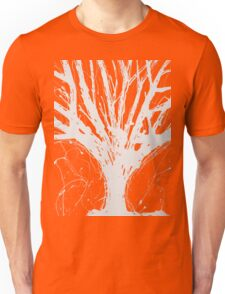 Abstract Tree Painting by Parrish Lee Unisex T-Shirt
