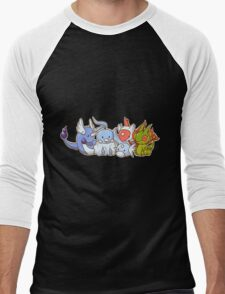 Pokemon Group Men's Baseball ¾ T-Shirt