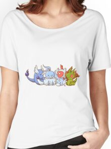 Pokemon Group Women's Relaxed Fit T-Shirt