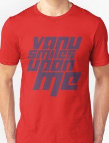 Vanu Smiles Upon Me - Purple T-Shirt