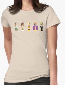 8-Bit Pro Wrestling Womens Fitted T-Shirt
