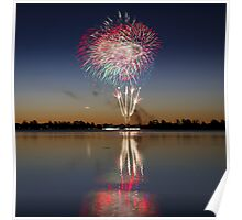 Australia Day Fireworks 2014 Poster
