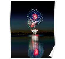 Australia Day Fireworks 2014 - number 2 Poster
