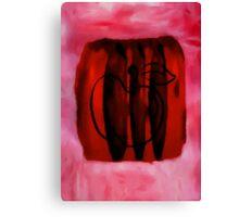 cherry apple Canvas Print