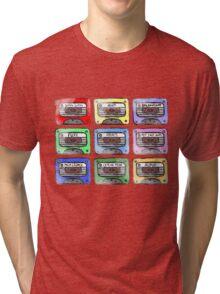 80's Tape Cassette Tee Tri-blend T-Shirt