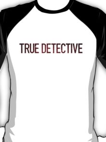 True Detective Logo T-Shirt