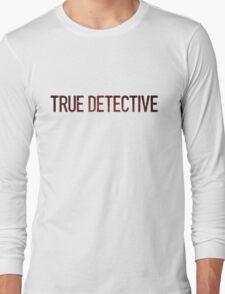 True Detective Logo Long Sleeve T-Shirt