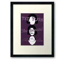 An Inconceivable Trio - The Princess Bride Framed Print