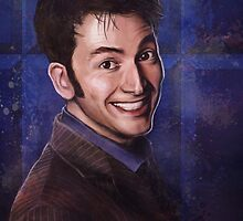 David Tennant as the 10th Doctor by Lap12