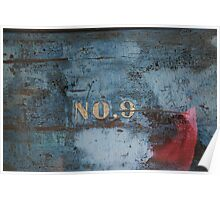 No. 9 Wooden Boats Poster
