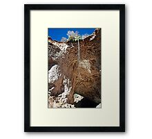 Tonto Natural Bridge and Rock Formations Framed Print