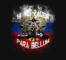 Si vis pacem para bellum russia w. white font T-Shirt