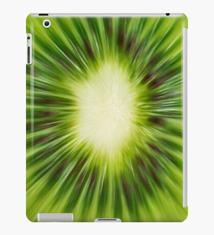 Abstract Kiwi iPad Case/Skin