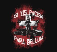 Si vis pacem para bellum swiss w. white font by freshi85
