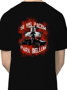 Si vis pacem para bellum swiss w. white font Classic T-Shirt