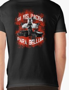 Si vis pacem para bellum swiss w. white font Mens V-Neck T-Shirt
