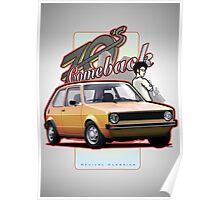 Comeback 70s - Oldtimer Car Poster