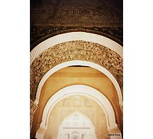 Beautiful carved arched doorways  Photographic Print