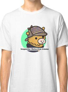 Inspector Detective Llama Classic T-Shirt