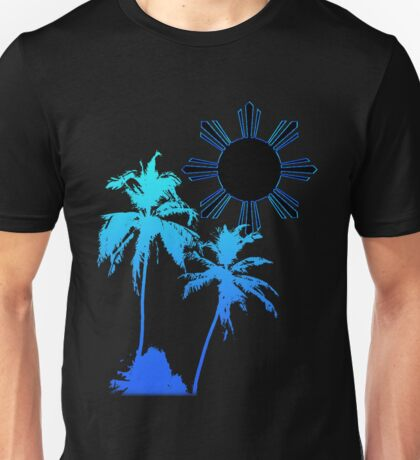 Tranquil Skies and Seas Unisex T-Shirt