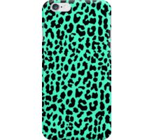 Neon Mint Leopard iPhone Case/Skin