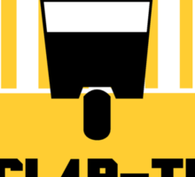 CL4P-TP Warning Sticker