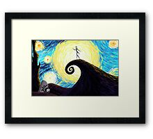 Starry Nightmare Framed Print